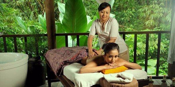 100 minut relaxace v salonu Thai Sun