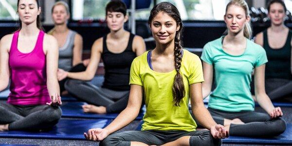Pět vstupů na otevřené lekce jógy