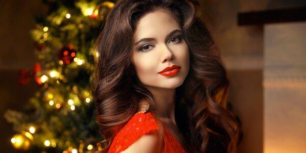 Vánoční kadeřnické balíčky pro dámy