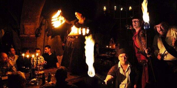 Noc v Dětenicích: Středověký program i hostina