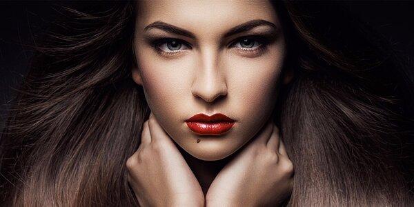 Kompletní kosmetické ošetření s úpravou obočí
