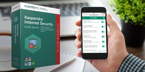 Antivirový software Kaspersky pro PC i telefony