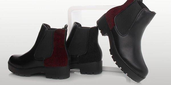 Moderní dámské podzimní boty