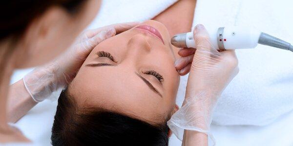 Důkladné kosmetické ošetření obličeje