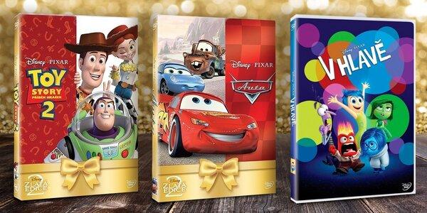 Oblíbené Disney pohádky na DVD