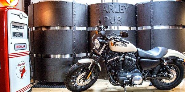 Vstup do muzea Harley-Davidson