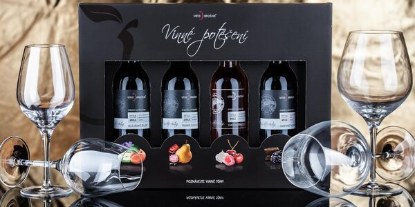 Souboj vín nebo soukromá degustace při svíčkách