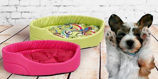 Oválné pelíšky značky Argi pro sladké sny vašich psích mazlíků