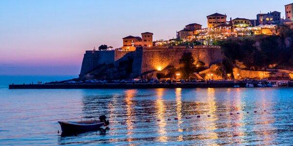 Dovolená v Černé Hoře u moře a s plnou penzí