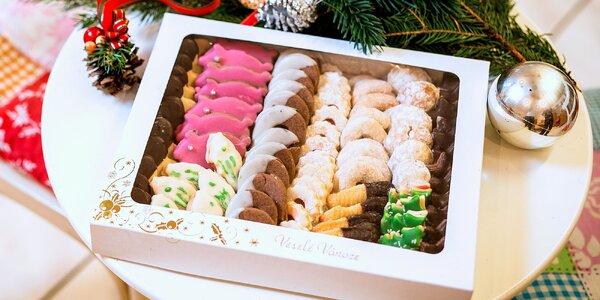 Čerstvě napečeno: 1kg balíček vánočního cukroví