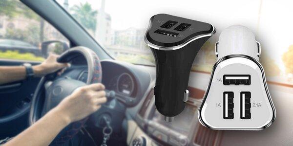 Autonabíječka až pro 3 USB zařízení