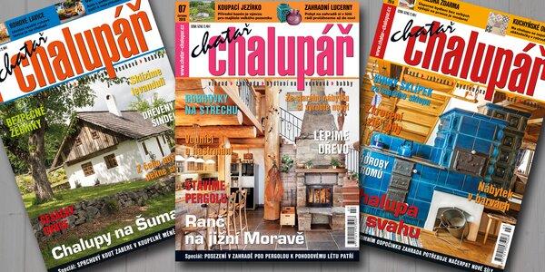 Roční předplatné časopisu Chatař chalupář 2017