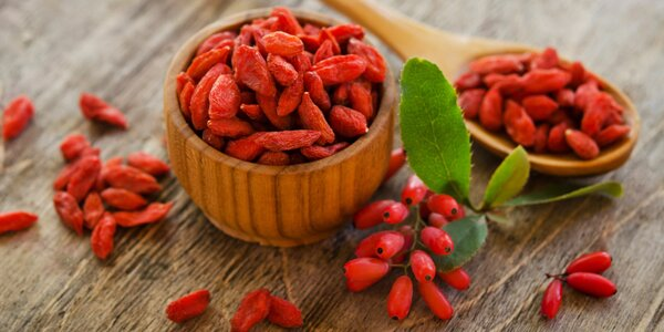 Do nového roku štíhlejší se sušenými plody goji