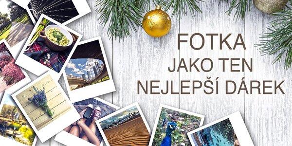 Darujte fotky v krásné podobě - fotokniha i kalendář!