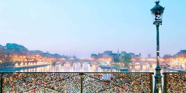 Paříž na Valentýna včetně ubytování a snídaně