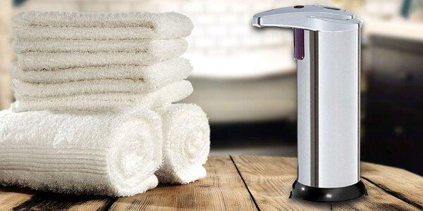 HiMAXX nerezový senzorový dávkovač mýdla 250ml