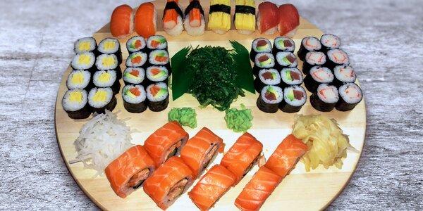 Sushi menu: japonské pohoštění