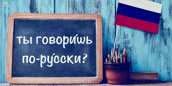Jazykový kurz ruštiny: 33 intenzivních lekcí