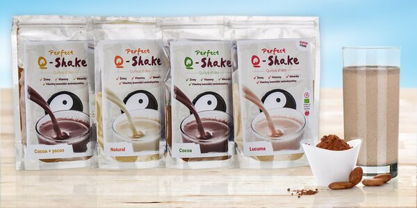 Proteinový nápoj Perfect Q-Shake s quinoou