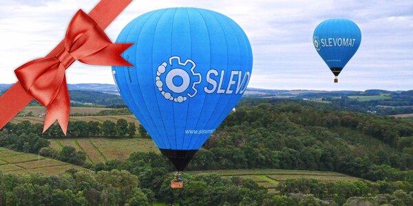 Zážitkový let horkovzdušným balónem