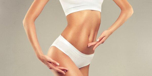Balíček hubnoucích procedur: 3x ultrazvuková liposukce a 3x radiofrekvence