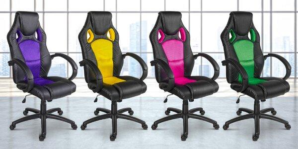 Otočné kancelářské židle MX Racer
