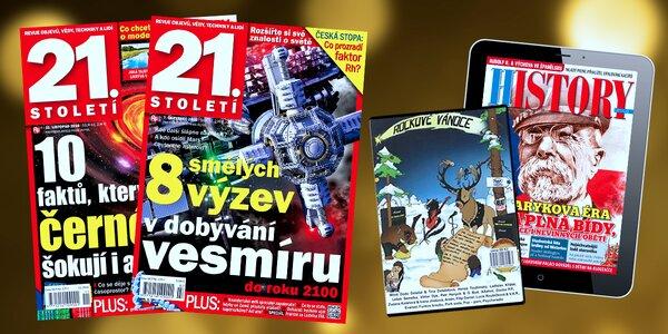 Předplatné časopisů 21. Století a History revue