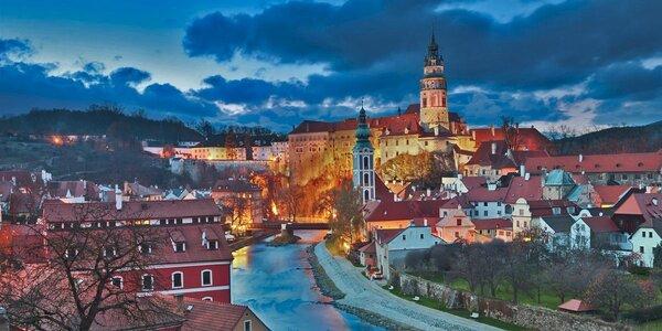 Dvě romantické noci se snídaní v Českém Krumlově