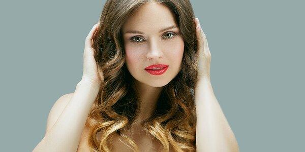Ombre barvení vč. střihu pro všechny délky vlasů