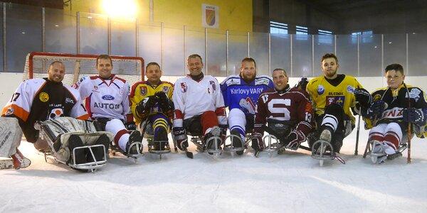 Příspěvek na sáně pro handicapované hokejisty