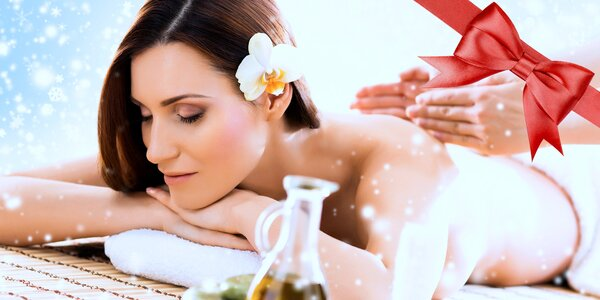 Luxusní masáž Lava Shells nebo Hot Stones