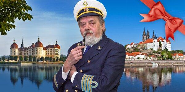 Dárkový lodní lístek na plavbu do Míšně