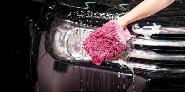 Očistná péče o váš automobil s ručním mytím