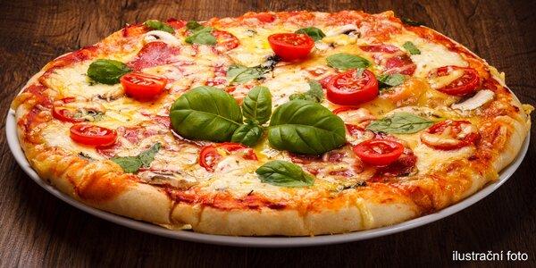 Dvě křupavé pizzy dle výběru v centru města