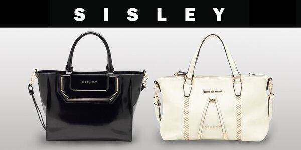 Elegantní kabelky značky Sisley