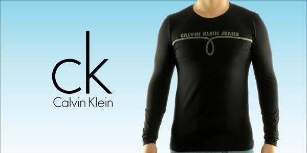 Pánská trička Calvin Klein s dlouhým rukávem