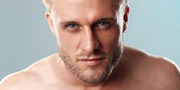 Speciální kosmetické ošetření pro muže