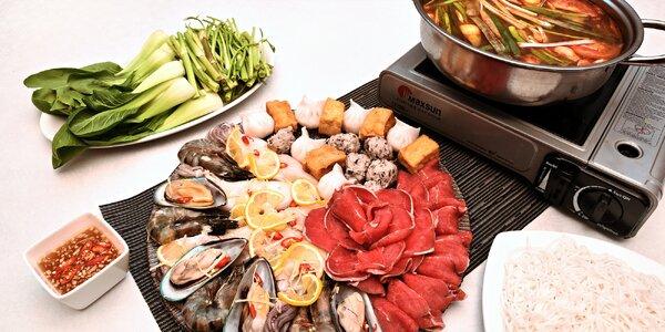 Zážitková hostina: asijské Hot Pot menu pro 2