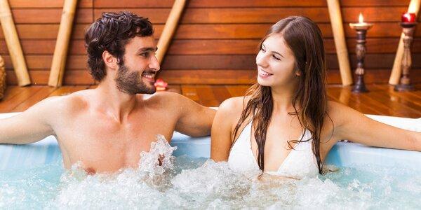 Bazén, vířivka a sauna pro 2 až 4 osoby