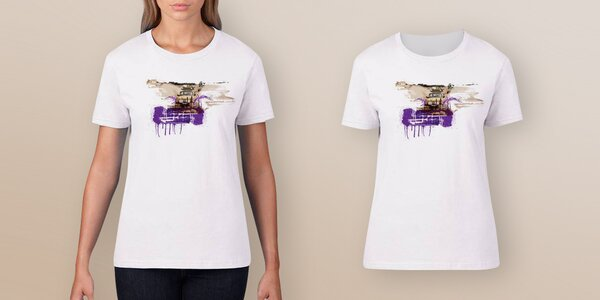 Dámské triko pro Klokánky od Dana Přibáně