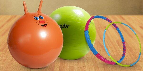 Cvičením ku zdraví: Míče a obruče Laubr