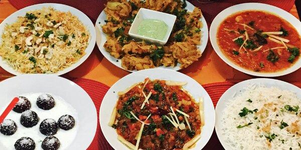 Perly indické kuchyně: Hostina pro 4 labužníky