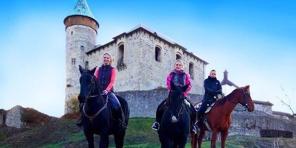 Projížďka na koni v okolí Kunětické hory