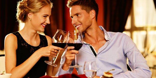 Romantika s privátním wellness a polopenzí