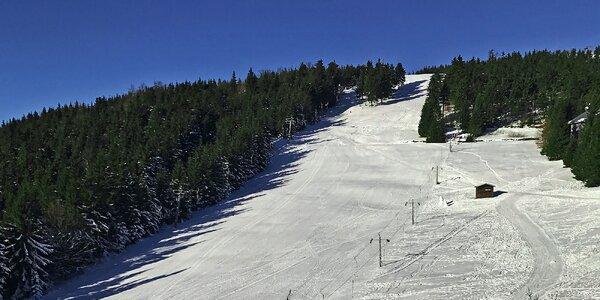 Parádní zimní lyžovačka v podhůří Jeseníků