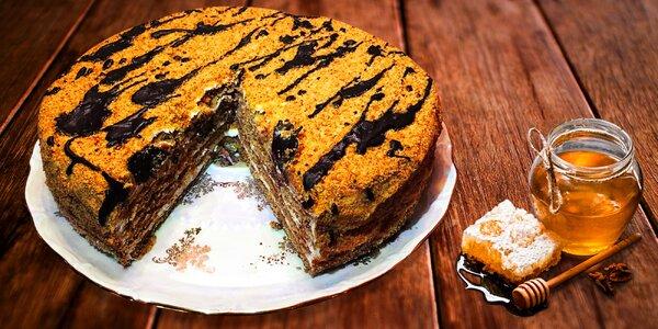 1400g medový dort podle arménské receptury
