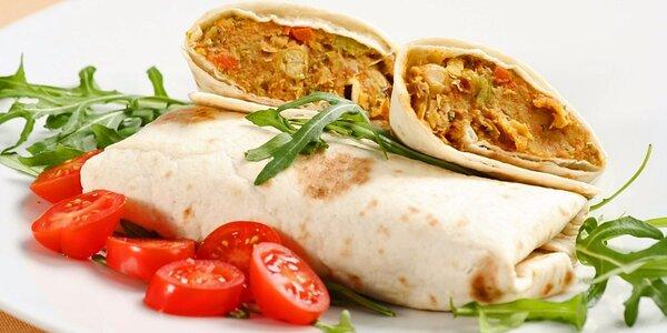 Zdravý vegetariánský oběd s rozvozem až k vám