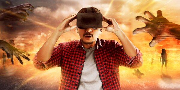 60 minut hry ve virtuální realitě
