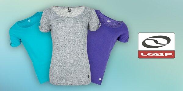 Stylová dámská trička Loap pro sport i volný čas