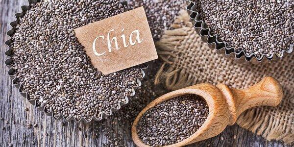 Nálož chia semínek pro vaše zdraví